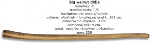 big walnut didje